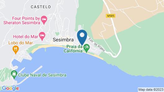 Sesimbra Hotel & Spa Map