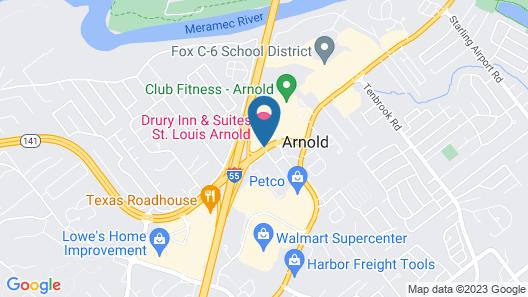 Drury Inn & Suites St. Louis Arnold Map