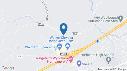 Wingate by Wyndham Hurricane WV Map