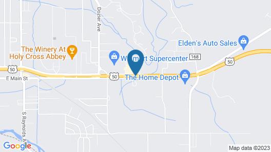 Hampton Inn Canon City Map