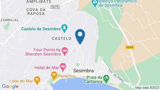 Filipe Village - Casa do Avô Zé Map