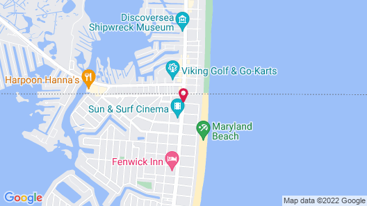 Quality Inn & Suites Oceanblock Map