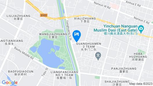 Ningxia Liupanshan Juhong Hotel Map