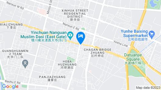Xi Gang Hang Kong Hotel Map
