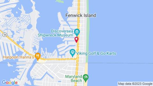 Fenwick Islander Motel Map
