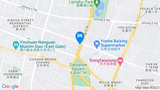 Shangling Boston Hotel Map