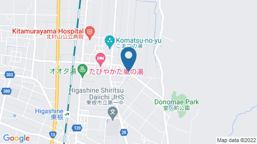 Ryokan Higashine Onsen Seishokan Map