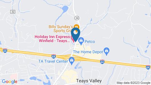 Holiday Inn Express Winfield, an IHG Hotel Map