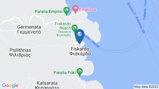 Fiscardonna Luxury Suites Map