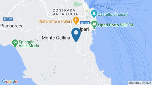 Hotel Tritone Map