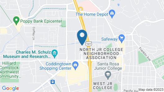 Hotel Santa Rosa Map