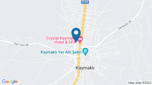Crystal Kaymakli Hotel & SPA Map