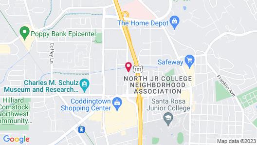 Holiday Inn Express Santa Rosa North, an IHG Hotel Map