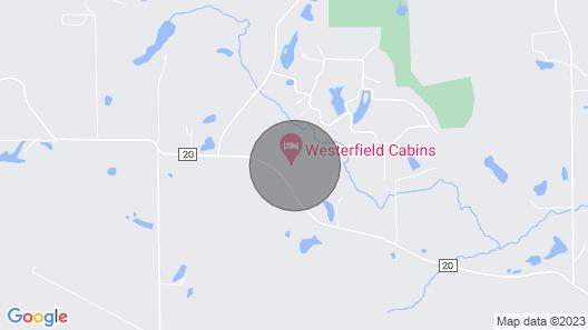 Log Cabin Rental Near St. Louis And Scott Air Force Base Map