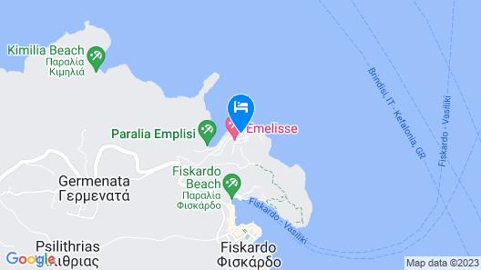 Emelisse Nature Resort Map