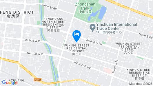Holiday Inn Yinchuan International Trade Centre, an IHG Hotel Map