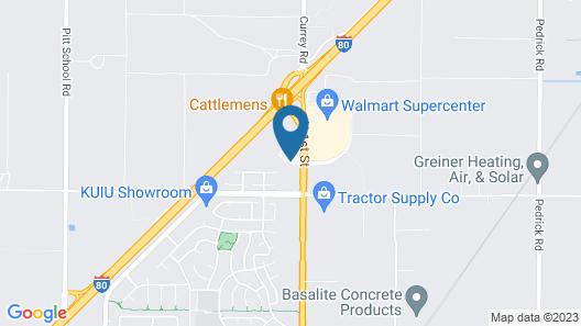Country Inn & Suites by Radisson, Dixon, CA - UC Davis Area Map