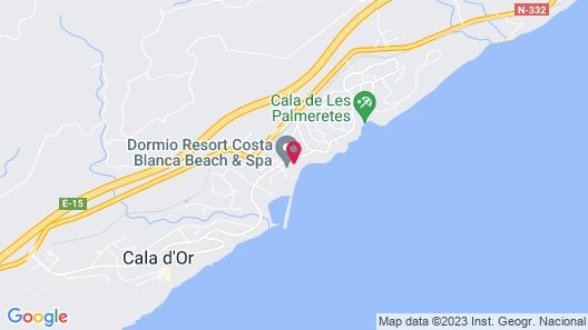 Dormio resort Costa Blanca Beach & Spa Map