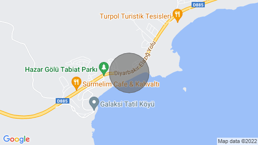 1 BR Apartment PAX 5 with Lake Views in Sivrice Map