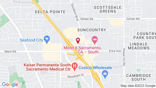 Best Western Capital City Inn Map