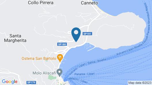 Hotel Villa Enrica - Aeolian Charme Map