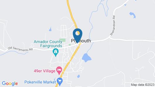 Plymouth House Inn Map