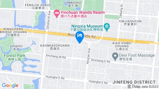 Kempinski Hotel Yinchuan Map