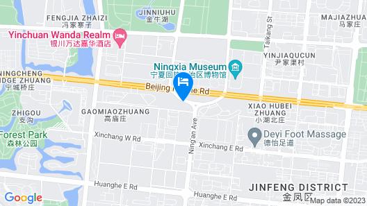 Courtyard by Marriott Yinchuan Map