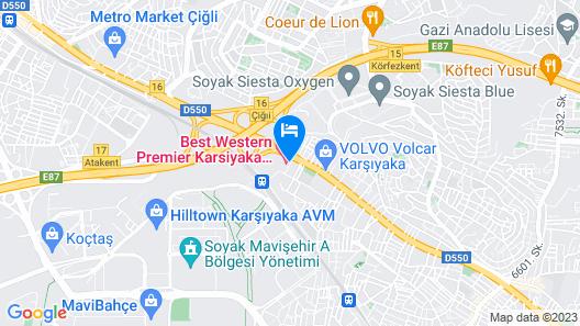 Karşıyaka Otel Map