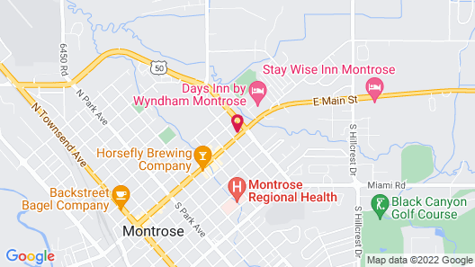 Briarwood Inns Map