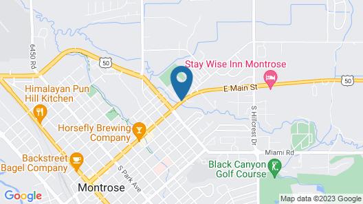 Days Inn by Wyndham Montrose Map