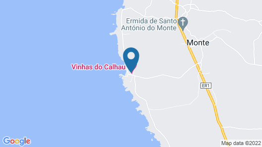 Vinhas do Calhau Map