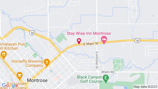 GreenTree Inn Montrose Map