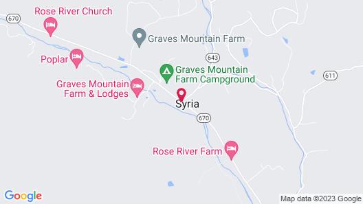 Graves Mountain Farm & Lodges Map
