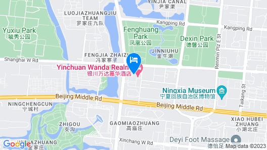 Wanda Realm Yinchuan Map