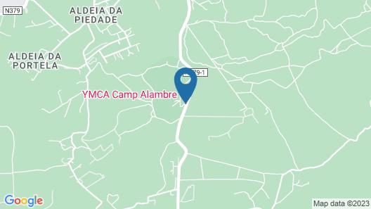 Ymca Camp Alambre Bungalows Map