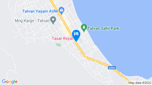 Tasar Royal Hotel Map