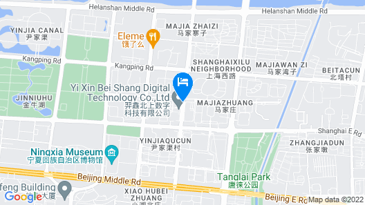 Ningxia Dejilinka Hotel Map