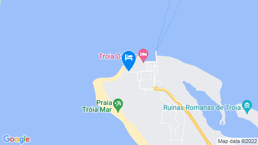 Troia Residence- Beach Houses – S.Hotels Collection Map