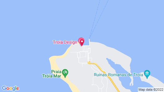 Troia Design Hotel Map