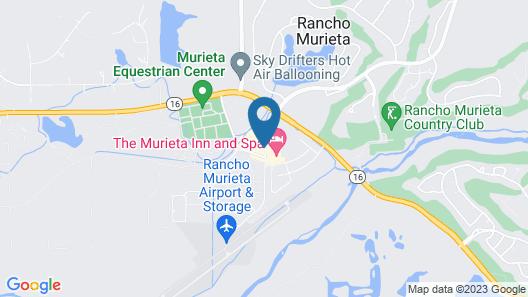 The Murieta Inn & Spa Map