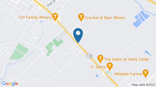 El Bonita Motel Map