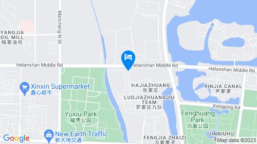 Holiday Inn Express Yinchuan Downtown, an IHG Hotel Map