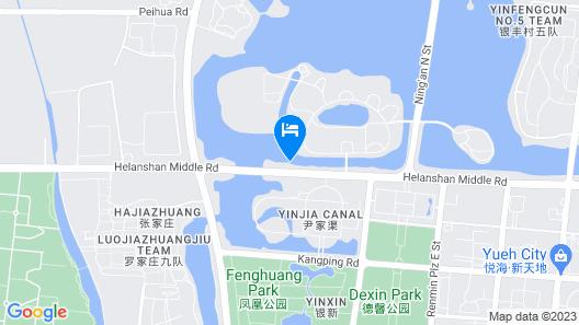 Ningxia Yuehai Hotel Map