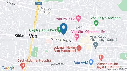 Ronesans Lıfe Hotel Map