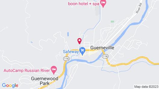 West Sonoma Inn & spa Map