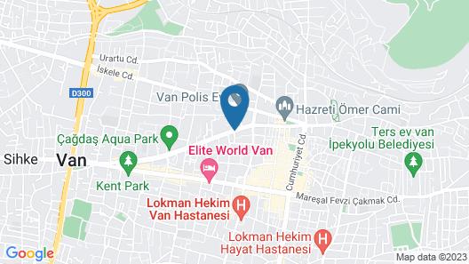 Otel Sehrivan Map