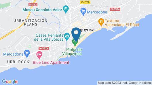 Apartamentos Galiplaya Map