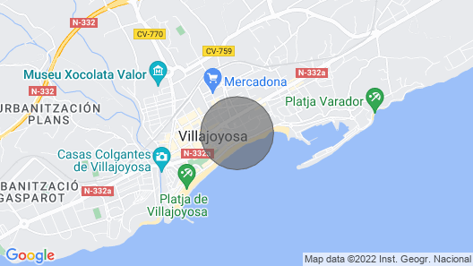Panorama Luxury Apartment - Apartment for 6 People in Villajoyosa Map