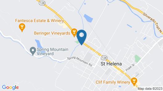 Alila Napa Valley Map